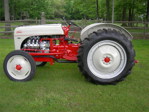 Ford Tractor Cam : Marvin baumann antique tractors